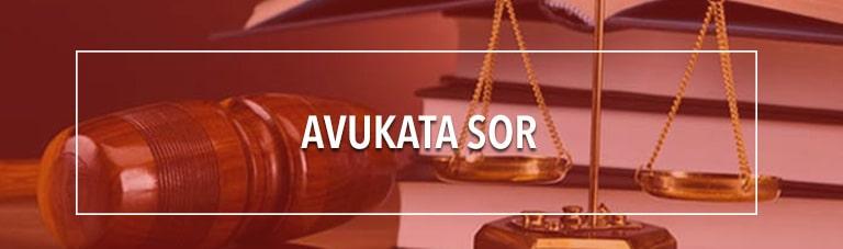 Avukata Sor
